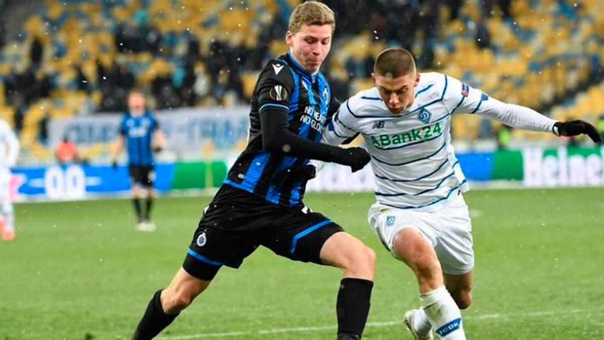 Брюгге – Динамо: анонс матчу-відповіді 1/16 фіналу Ліги Європи