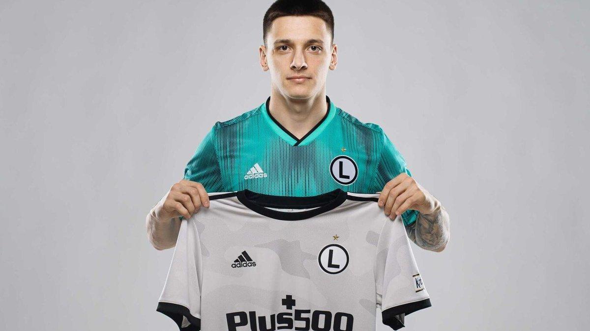 Динамо официально отдало Русина в аренду Легии