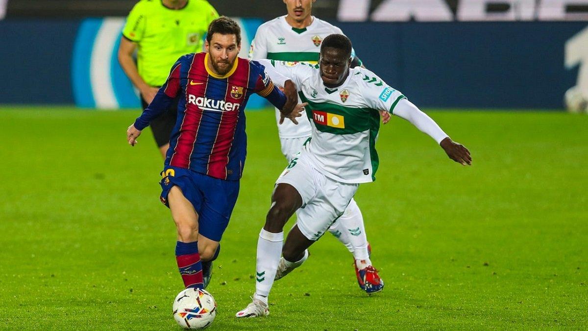 Дубль Месси в видеообзоре поединка Барселона – Эльче – 3:0