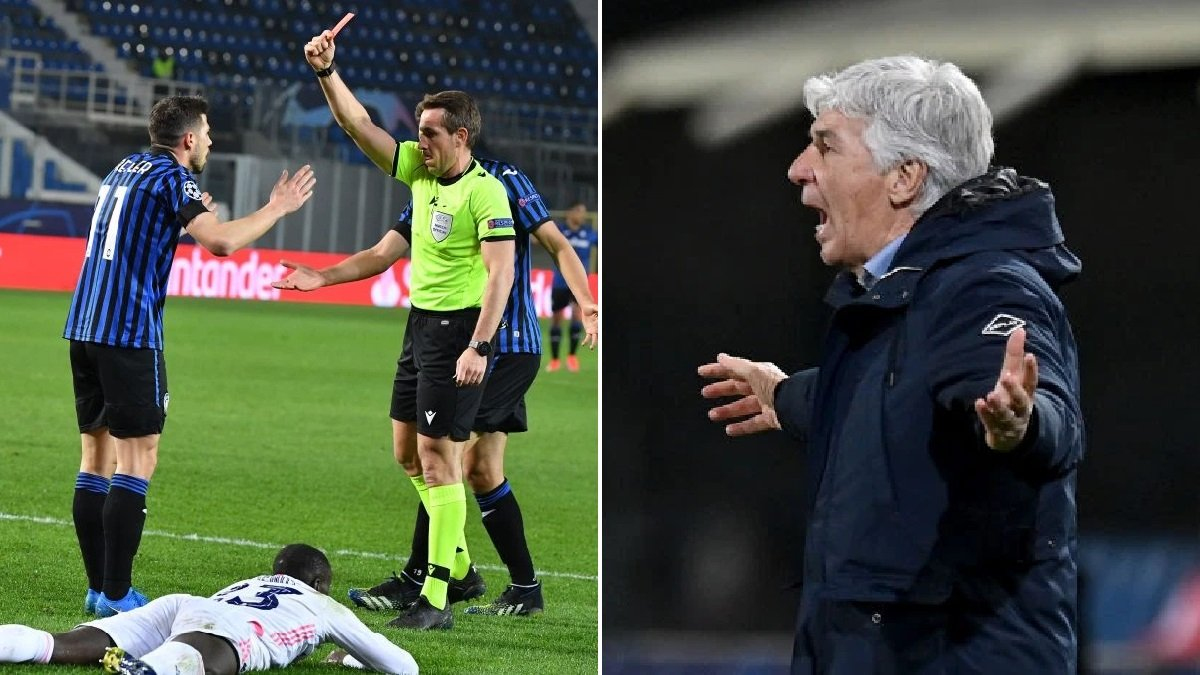 Гасперіні обурений арбітражем у матчі Аталанта – Реал: Це футбольне самогубство – суддям варто піти на іншу роботу