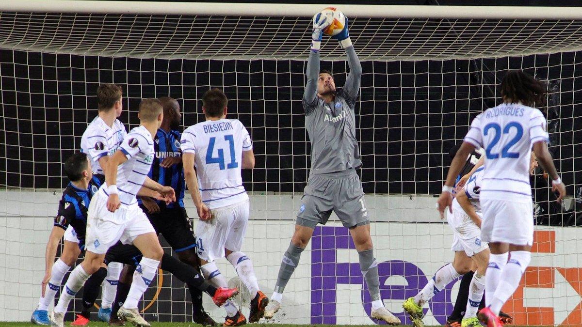 Брюгге – Динамо: InStat определил лучшего игрока киевлян в матче Лиги Европы
