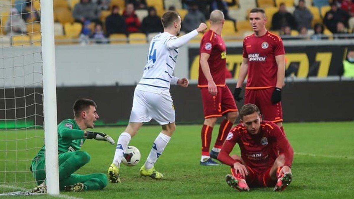 Львов – Динамо – 1:4 – видео голов и обзор матча