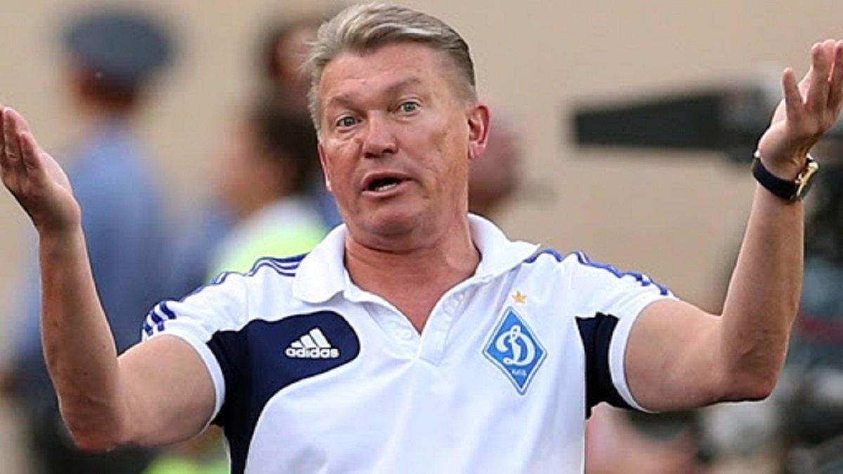 Блохін оцінив шанси Динамо та Шахтаря на вихід у чвертьфінал Ліги Європи