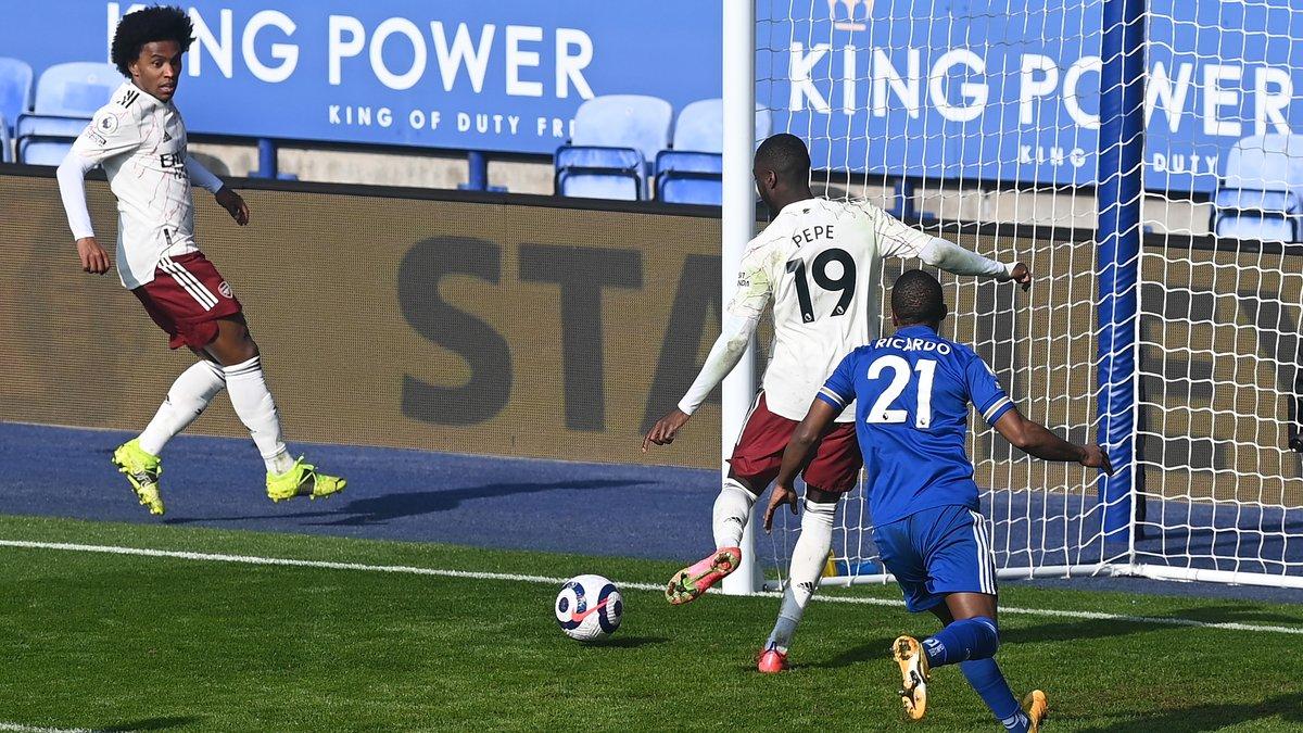 Лестер – Арсенал – 1:3 – видео голов и обзор матча