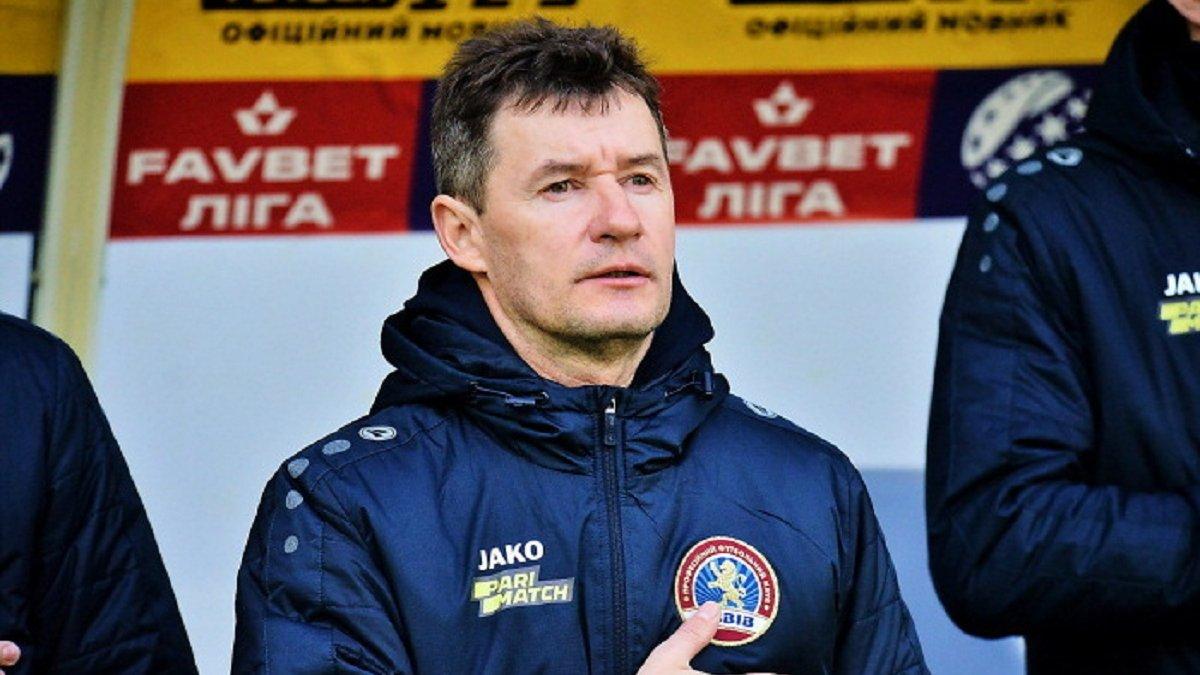 Шумський відреагував на своє несподіване звільнення з посади наставника Львова