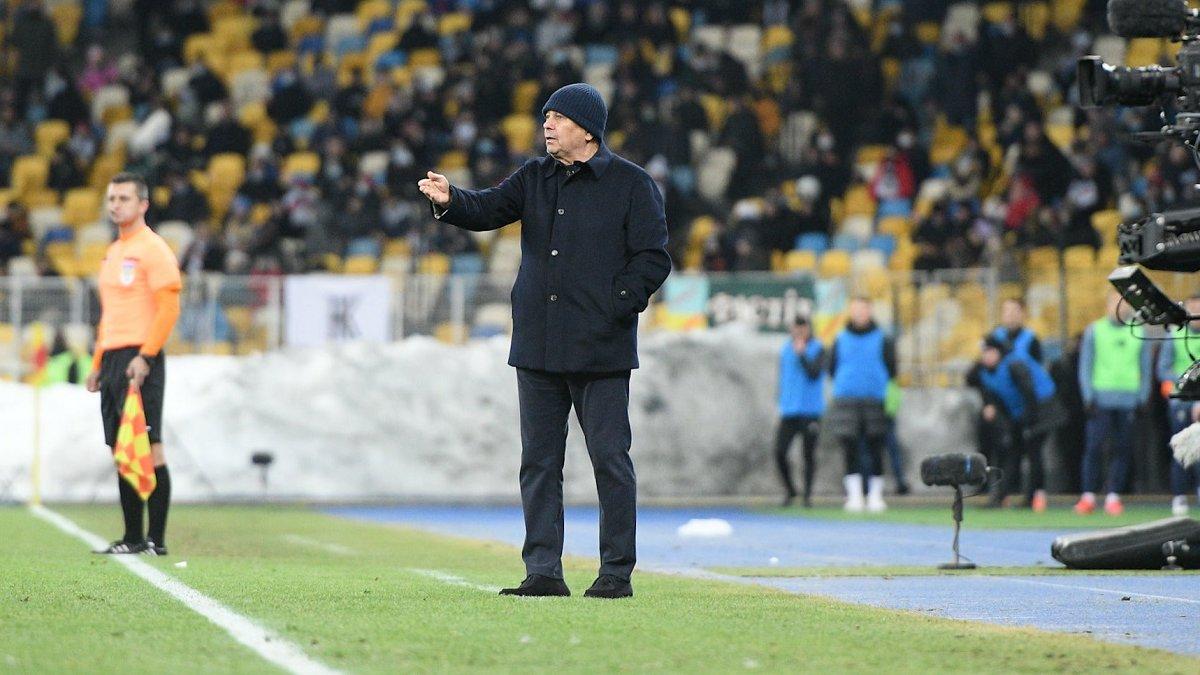 Динамо – Колос: Луческу прогнал оператора во время матча Кубка Украины