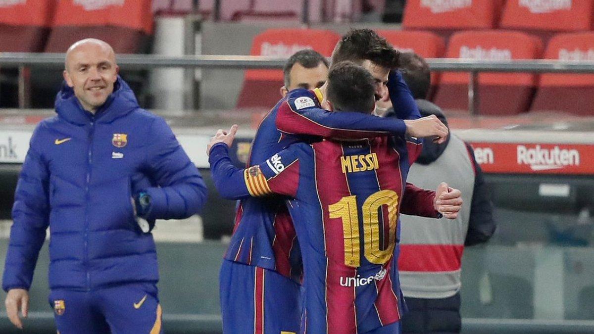 Барселона – Севилья: сумасшедшая реакция Месси на гол Пике – сигнал для ПСЖ?