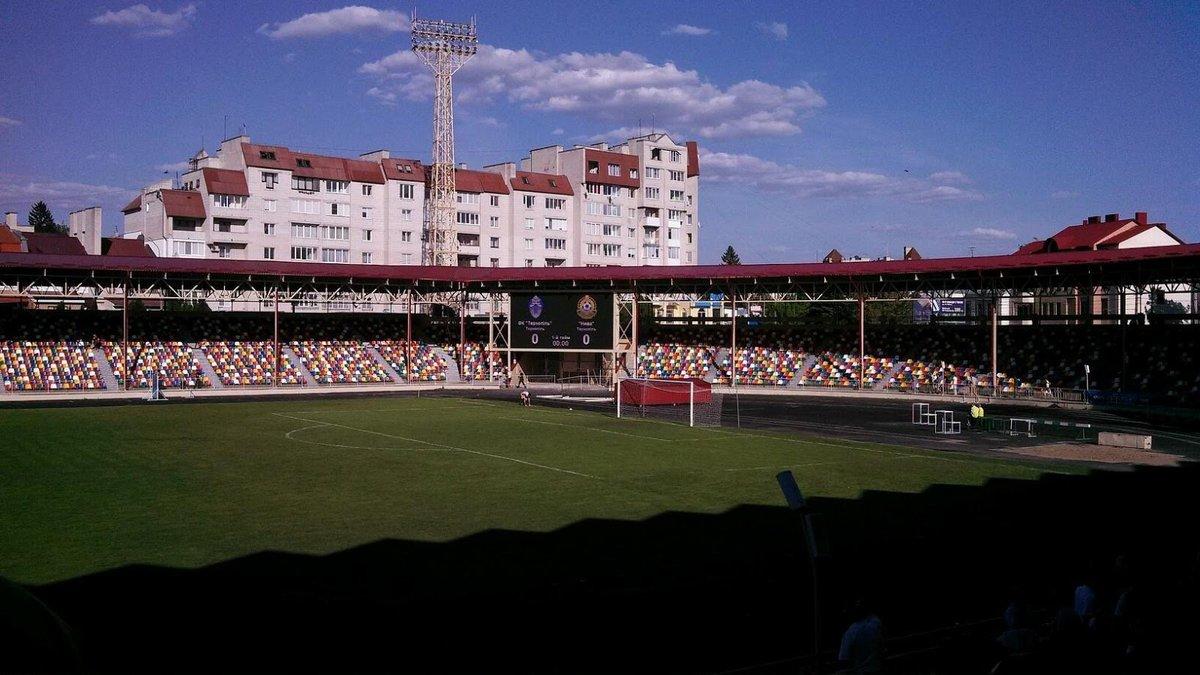 Тернопольский стадион переименовали в честь Шухевича: арена примет финал Кубка Украины