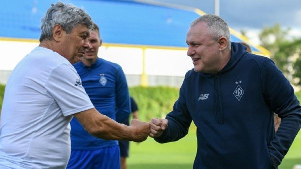 Суркис отреагировал на акции болельщиков Динамо против Луческу