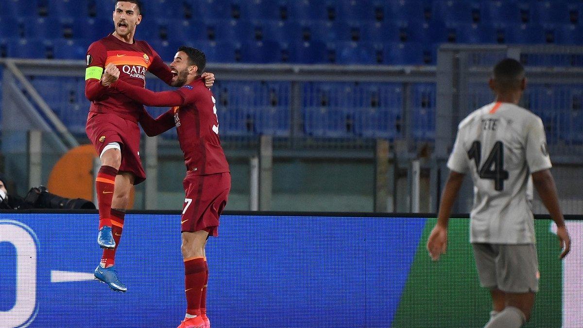 Рома – Шахтер: видео голов матча 11 марта 2021