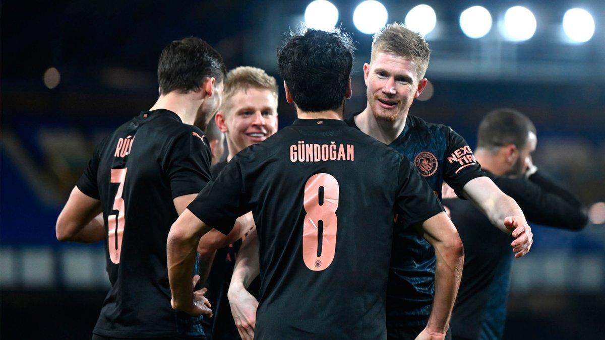 Ман Сити вышел в полуфинал Кубка Англии, дожав Эвертон – Зинченко провёл качественный матч и заслужил высокие оценки