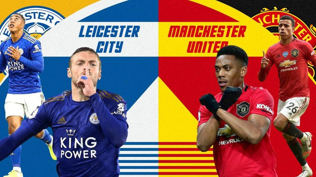 Лестер – Манчестер Юнайтед: стартовые составы на матч 1/4 финала Кубка Англии