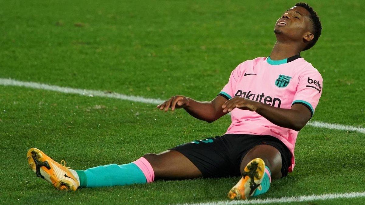 Фати рискует пропустить остаток сезона – вундеркинд Барселоны может снова лечь под нож