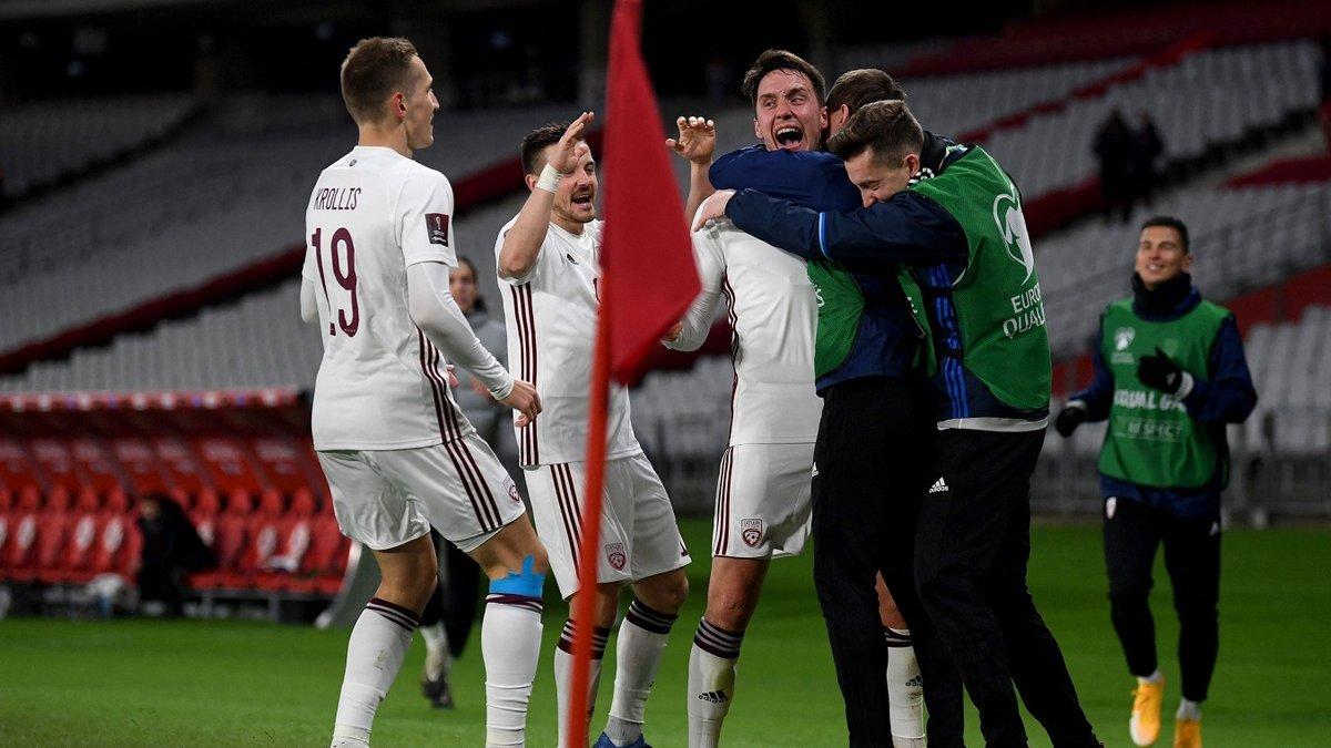 Сенсационный камбек в видеообзоре матча Турция – Латвия – 3:3