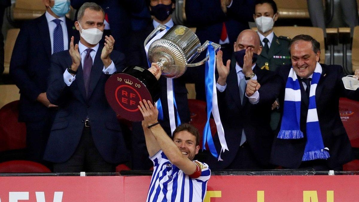 Екс-зірка Реала зіграв гімн Сосьєдада на трубі – розкішне святкування тріумфу в Кубку Іспанії