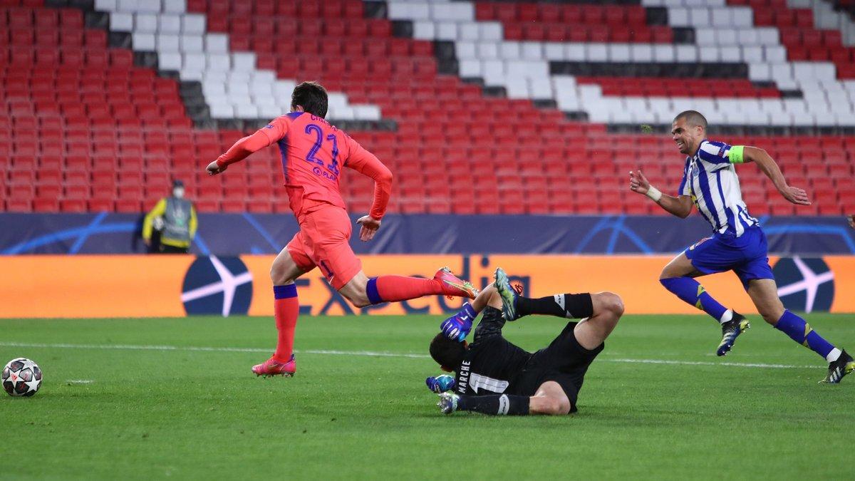 Порту – Челси – 0:2 – видео голов и обзор матча