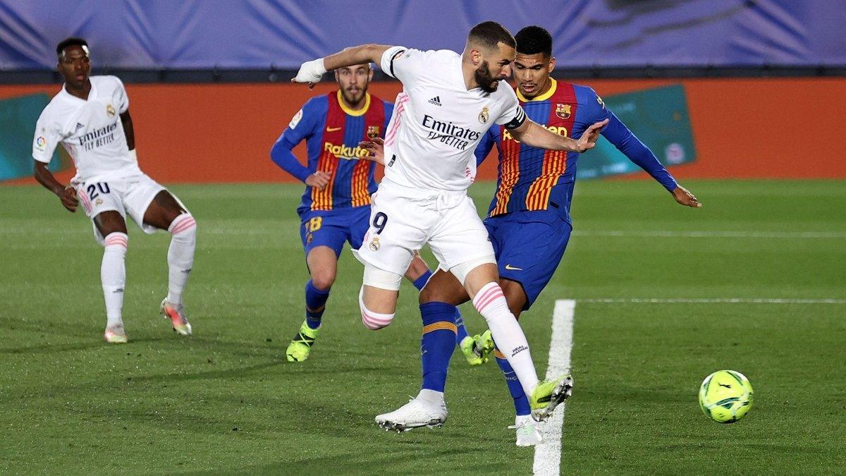 Реал – Барселона – 2:1 – видео голов и обзор матча