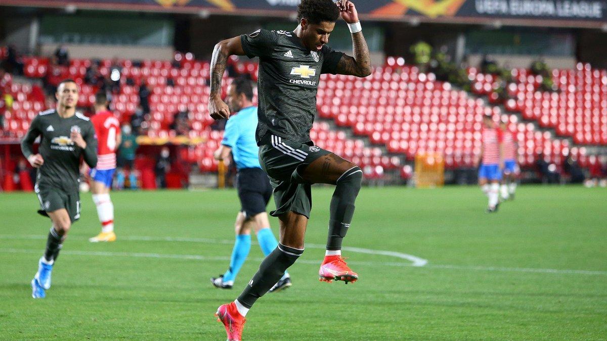 Рашфорд повторив рекорд результативності Роналду в єврокубках у складі Манчестер Юнайтед