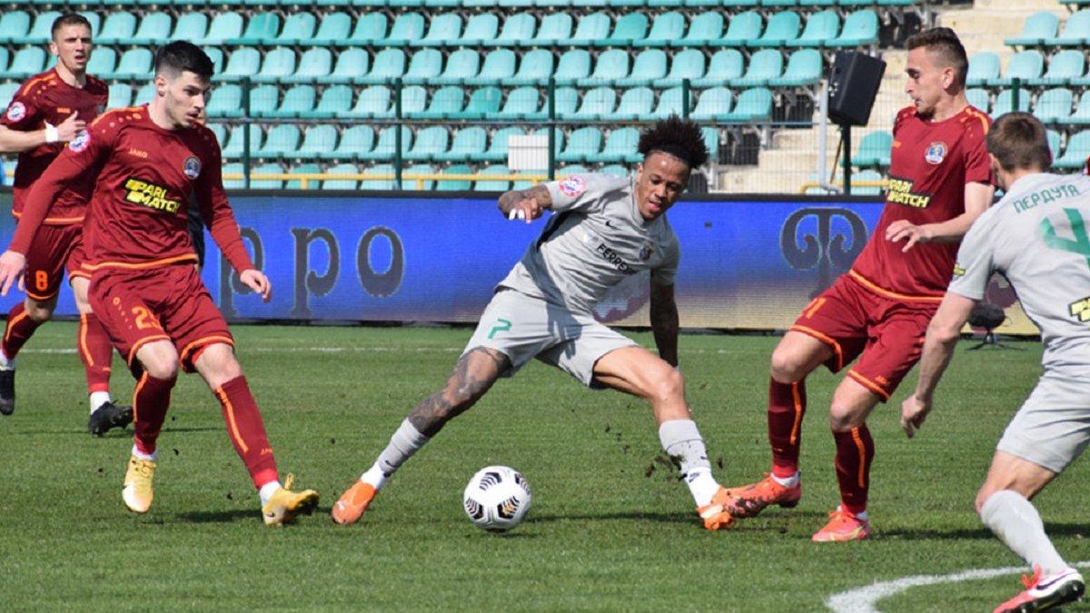 Львів у матчі з нереалізованим пенальті поступився Ворсклі і залишився у зоні вильоту