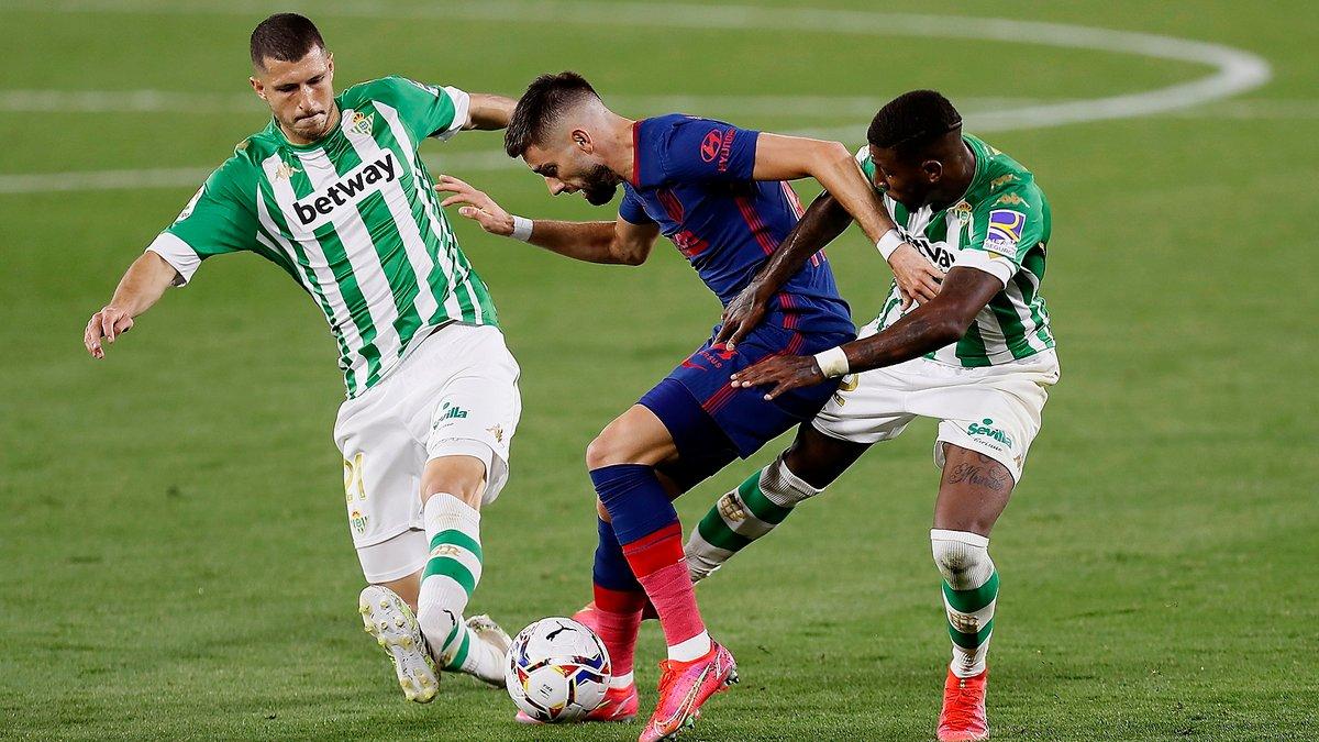 Атлетико расписал боевую ничью с Бетисом и вернулся на вершину Ла Лиги, Гранада вырвала победу у Вальядолида