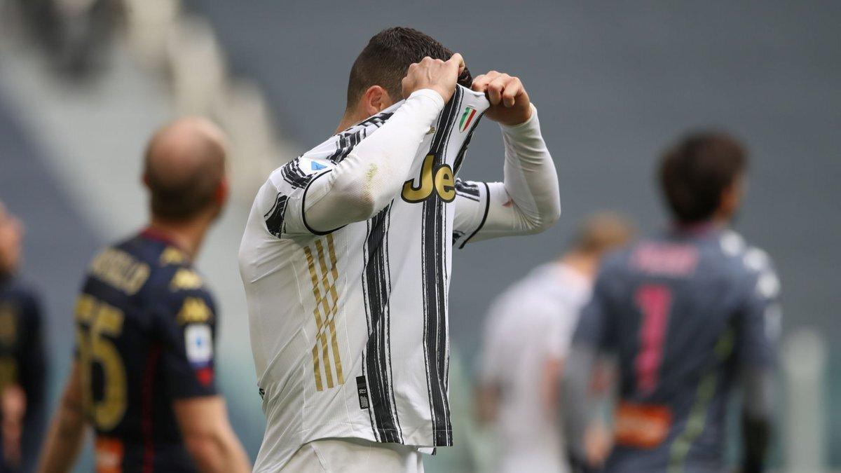 Роналду заистерил после личного фиаско против Дженоа – выброшенная футболка лишь вершина айсберга гнева Криштиану