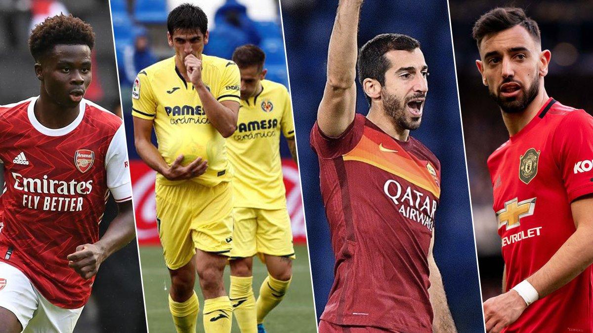 Лига Европы: определились пары 1/2 финала сезона 2020/21
