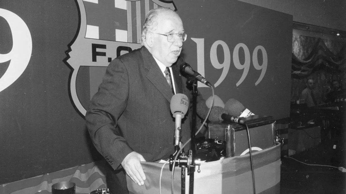Умер экс-менеджер Барселоны Муссонс – он был сотворцом Ла Масии и отдал клубу четверть века