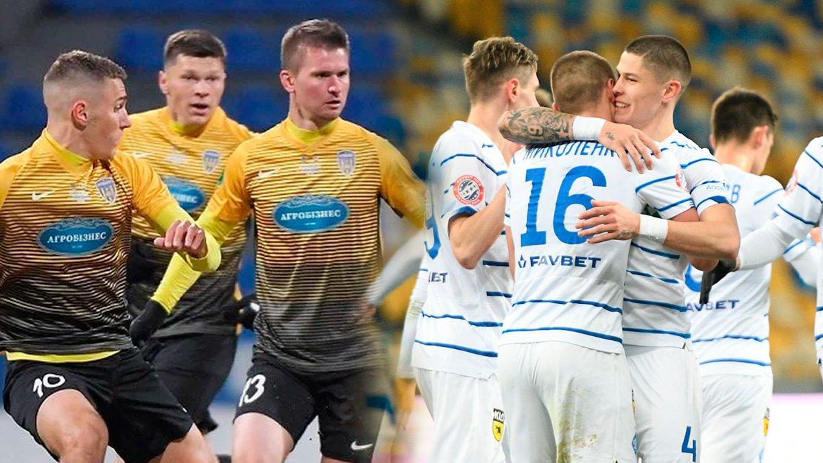 Агробизнес – Динамо: анонс полуфинала Кубка Украины