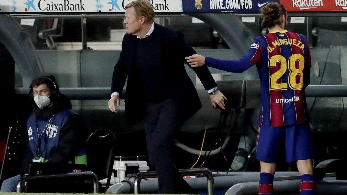 Барселона – Хетафе: Куман пояснив свою бурхливу реакцію на гру Мінгеси