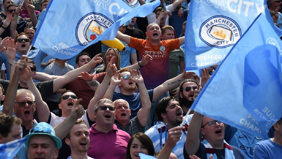 """Манчестер Сіті – ПСЖ: сотні фанів """"містян"""" влаштували гарячий прийом команді Гвардіоли"""