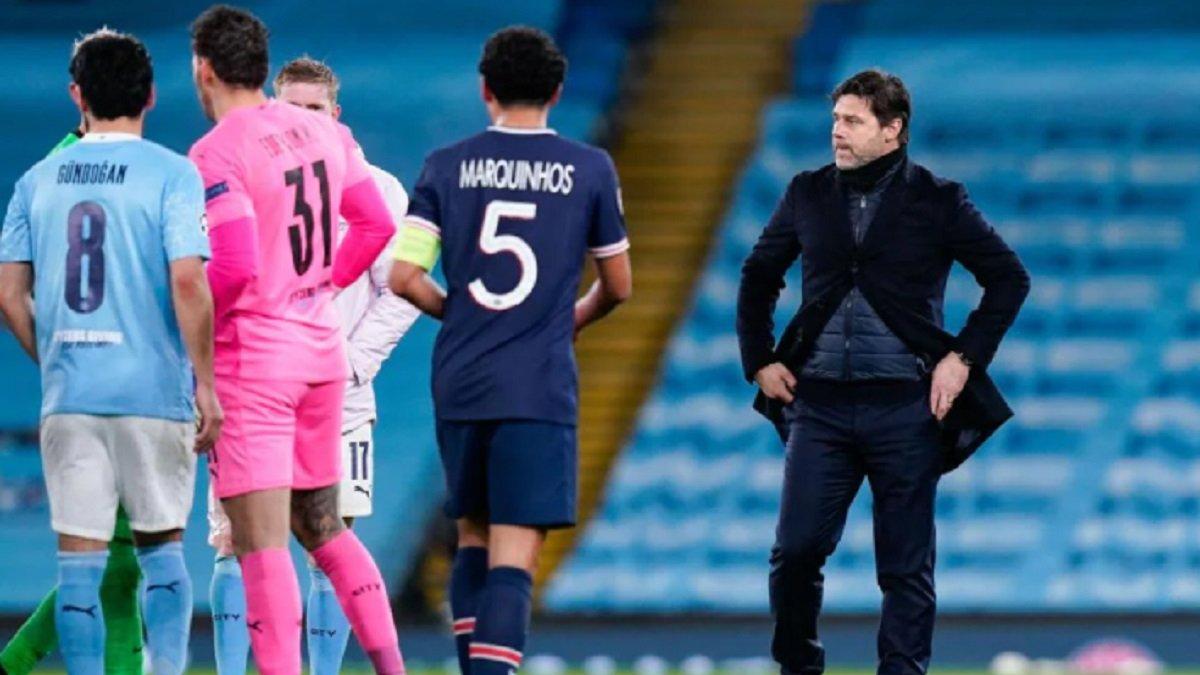 Манчестер Сіті – ПСЖ: Почеттіно назвав головні причини вильоту парижан з півфіналу Ліги чемпіонів