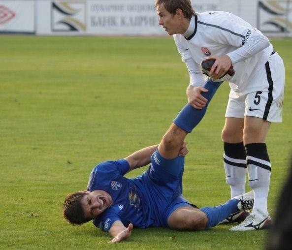 авария футбол