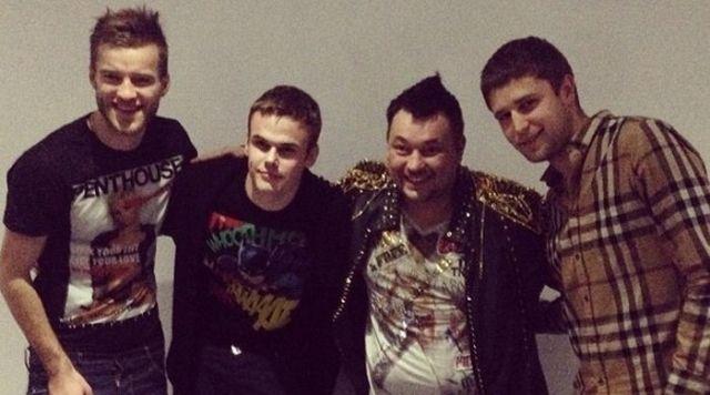Ярмоленко, Коваль и Кравец побывали на концерте Руки Вверх - изображение 1