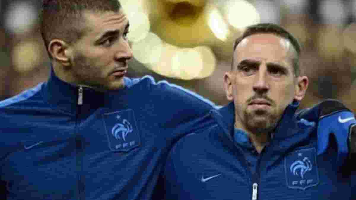 У Франції розпочався суд над Рібері та Бензема