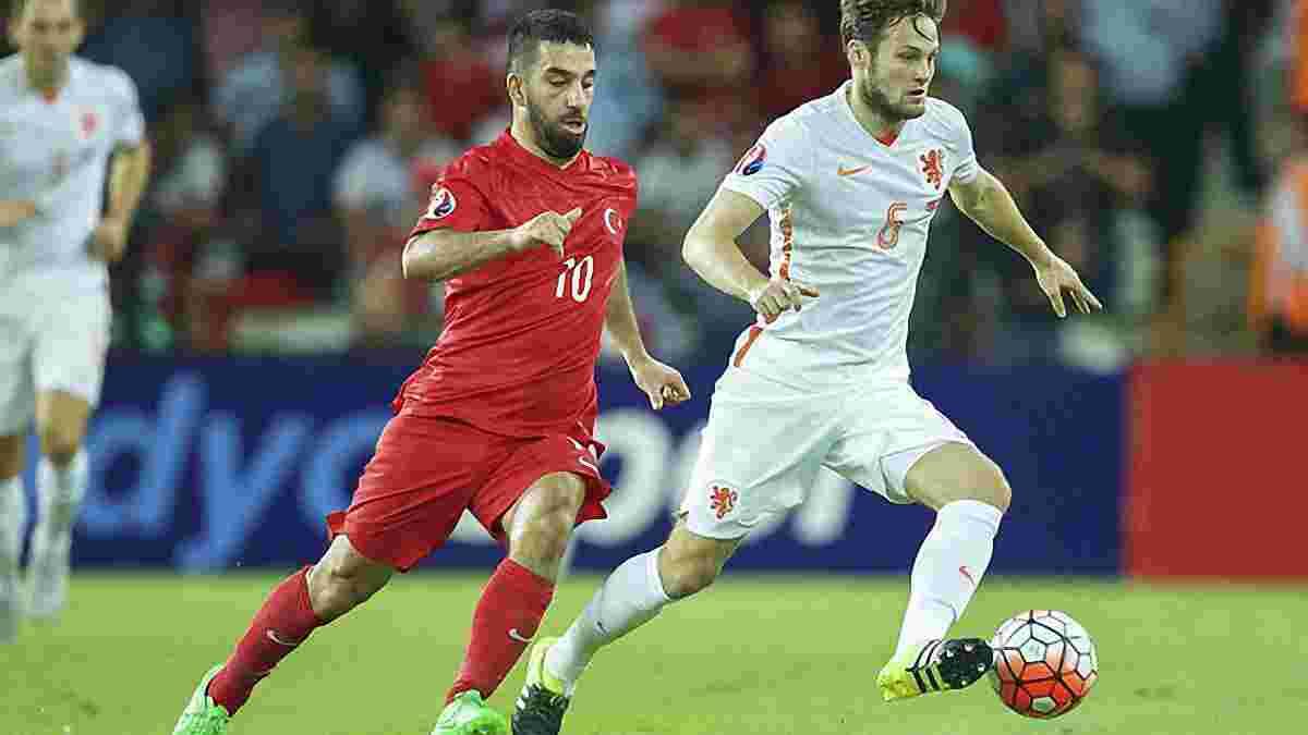 Квалификация Евро-2016. Тотальный Арда Нидерландам и очередное фиаско Срны и Виды