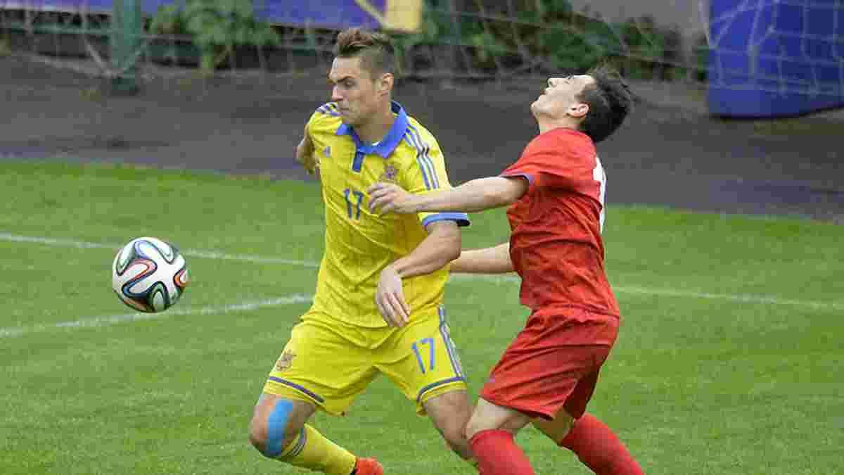 Сборная Украины U-19 разбила Азербайджан в квалификации Евро-2016