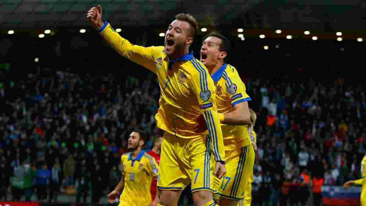 Ярмоленко: Щиро радий, що зняли з України прокляття плей-офф