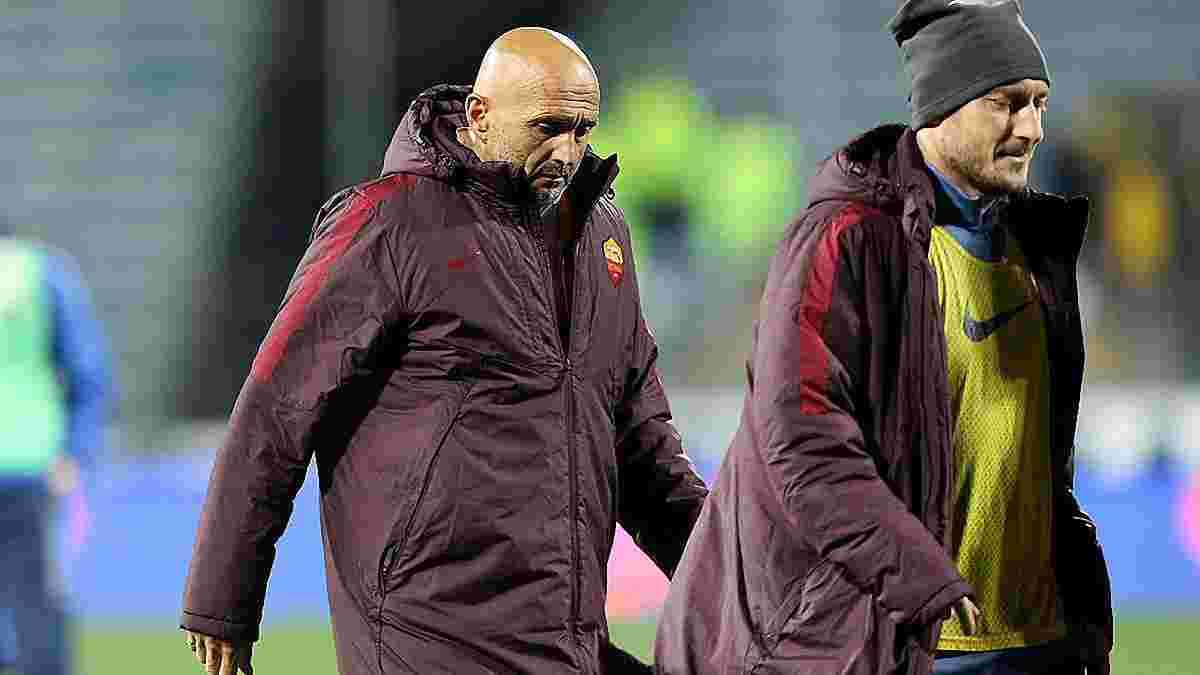 """Спаллетті в образливій формі наїхав на Тотті і """"Рому"""" після матчу, в якому Ческо врятував команду"""