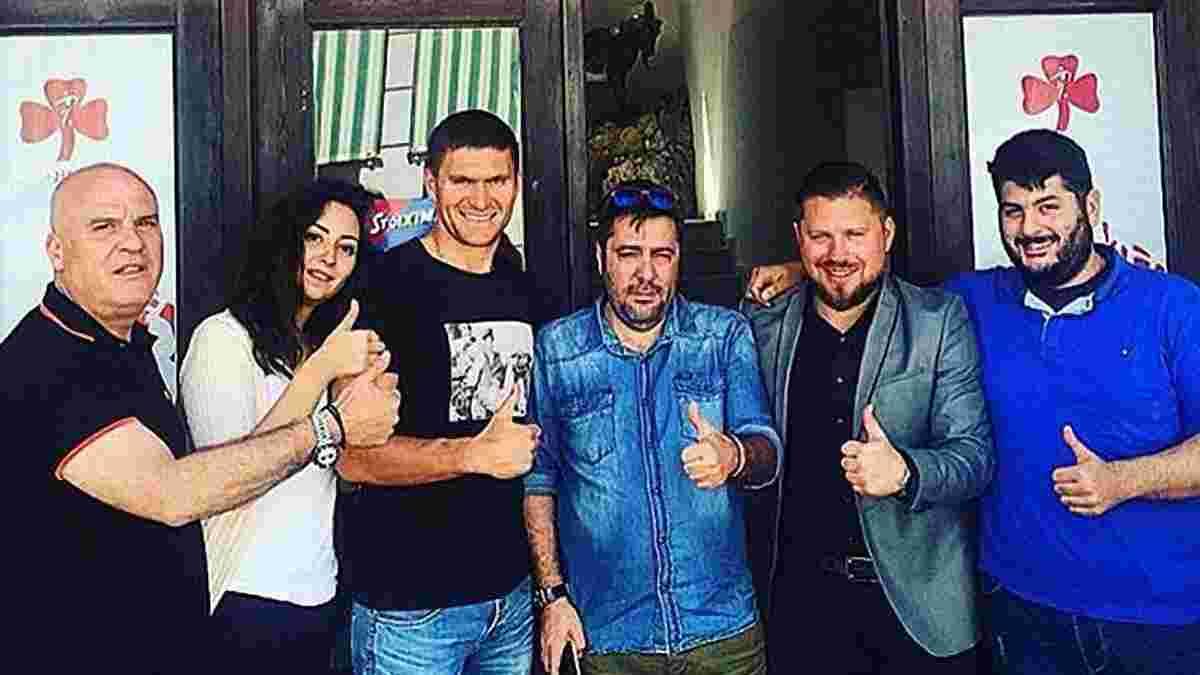 """""""Динамовец"""" и патриот Селин возвращается в Украину, - Панков"""