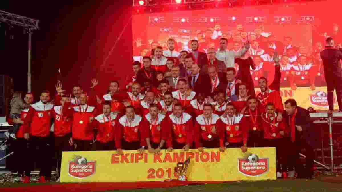 УЕФА дисквалифицировал чемпиона Албании из Лиги чемпионов за участие в договорных матчах