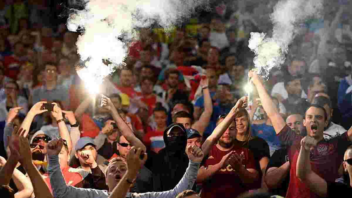 УЄФА пригрозив Росії та Англії дискваліфікацією з Євро-2016 через бійки фанатів