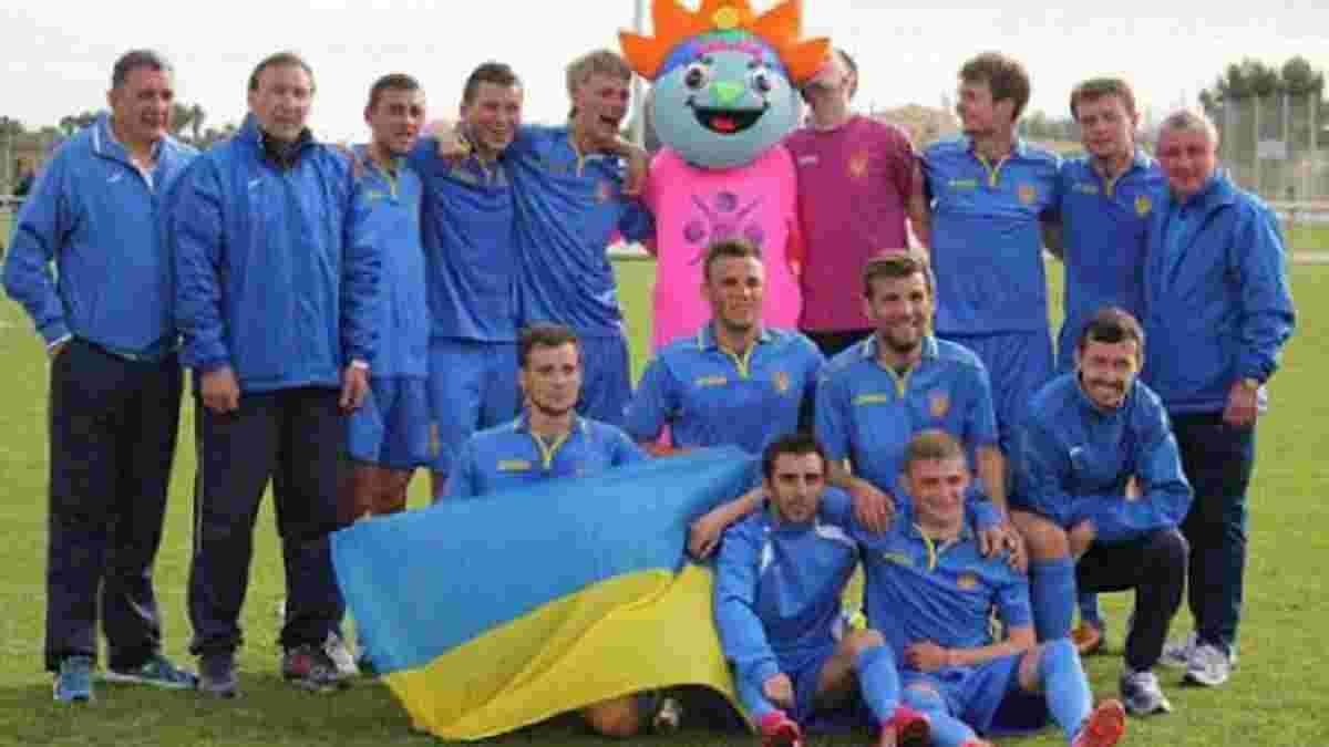 Паралимпийская сборная Украины в первых двух матчах в Рио-де-Жанейро одержала победы с общим счетом 8:1