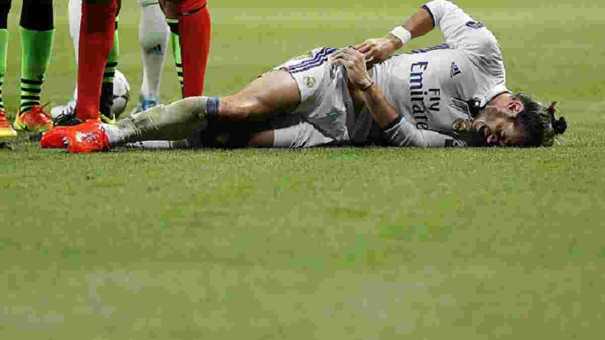 """Бейл травмувався у матчі зі """"Спортінгом"""" і ризикує пропустити 2 матчі"""