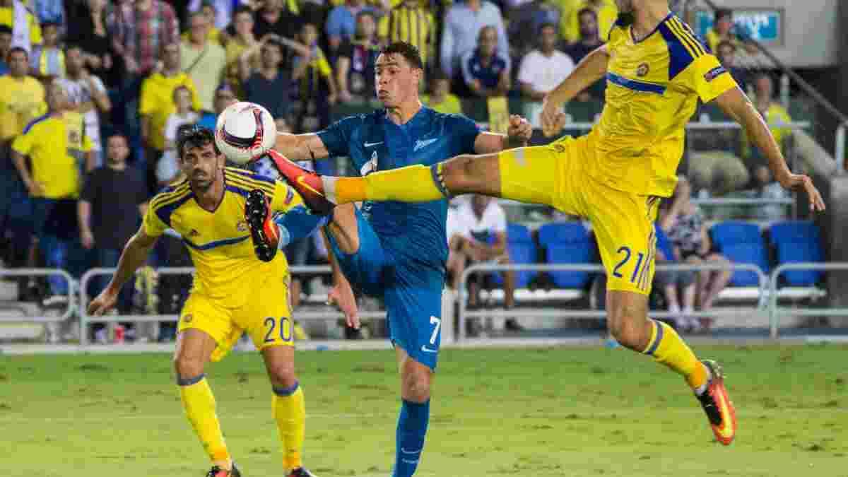 """Екс-лідер """"Дніпра"""" Джуліано відзначився феноменальним досягненням за """"Зеніт"""", повторивши рекорд ЛЄ"""
