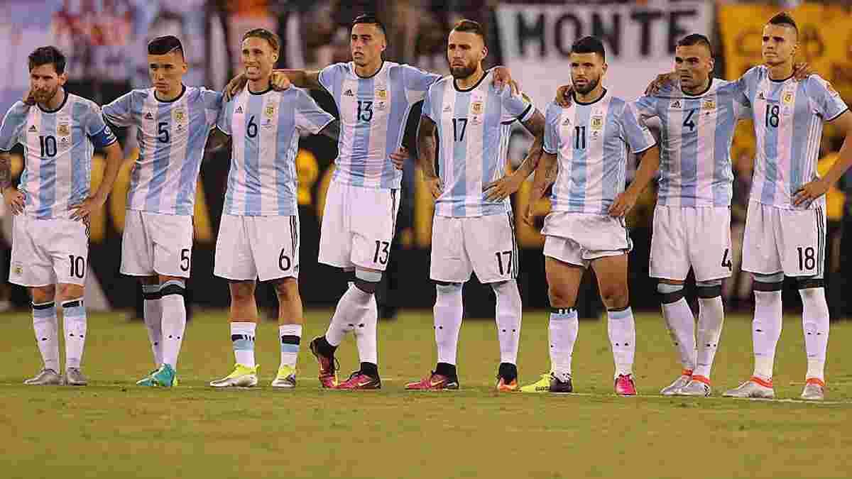 Мессі, Ігуаїн та Агуеро викликані у збірну Аргентини на матчі відбору до ЧС-2018