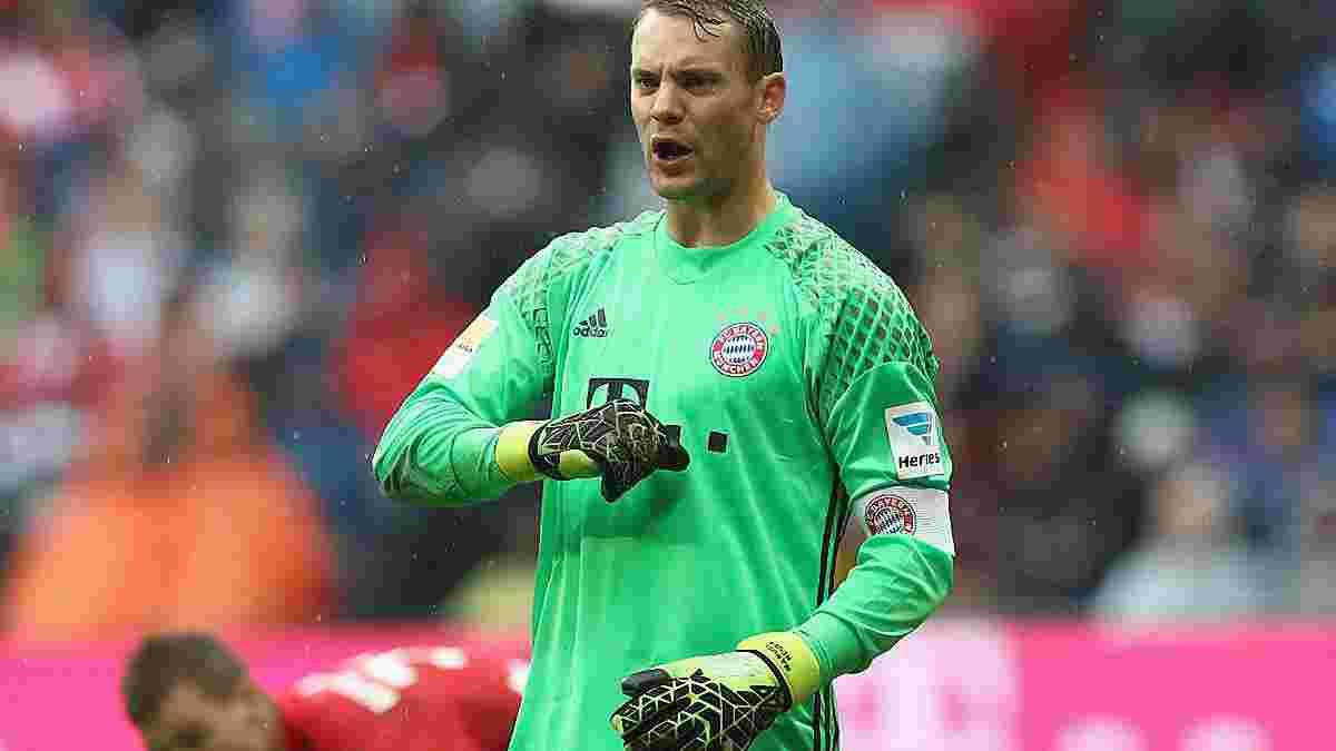 """Нойер прервал впечатляющую сухую серию, но стал игроком матча """"Бавария"""" – """"Ингольштадт"""""""