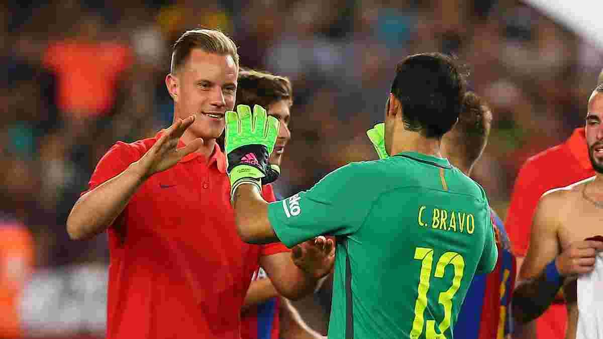 """Браво объяснил, почему решился уйти из """"Барселоны"""""""