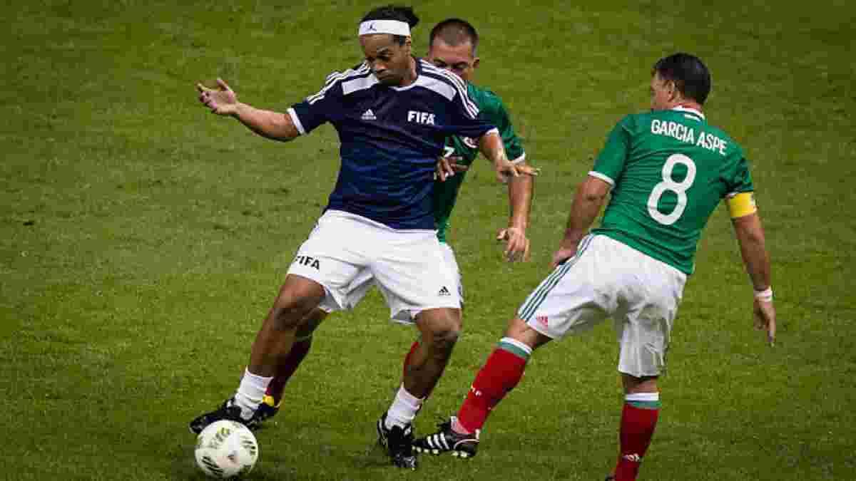 Роналдиньо подписал контракт с клубом 3-й лиги Мексики