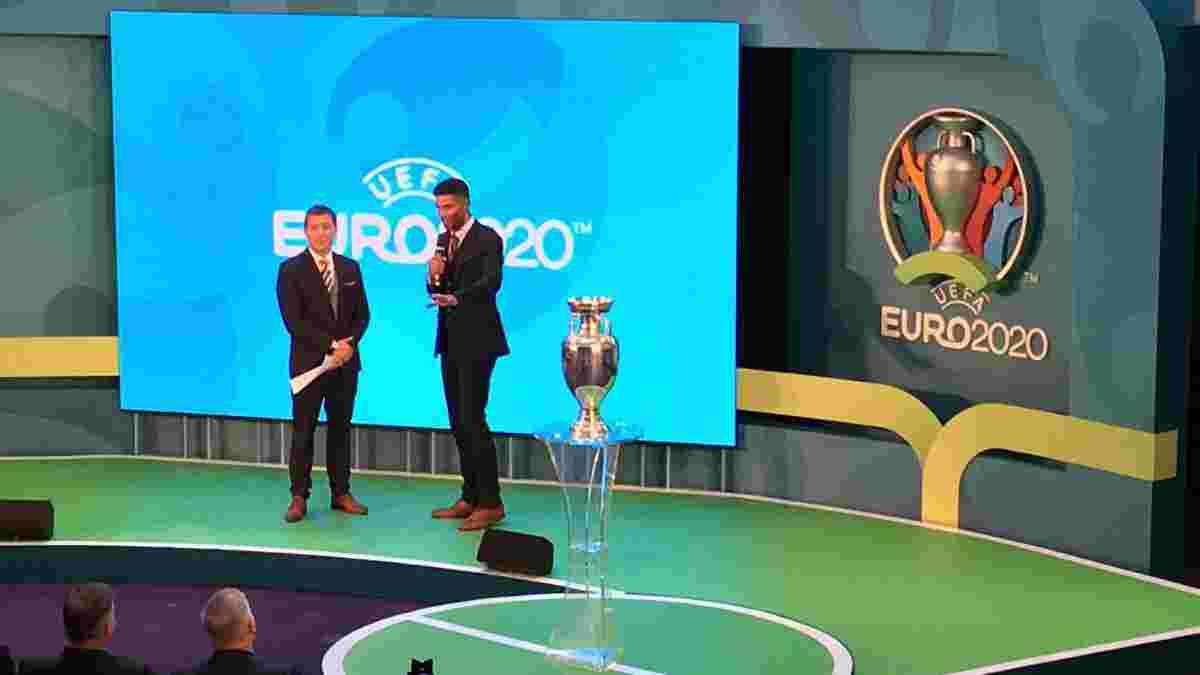 УЕФА представил официальный логотип Евро-2020