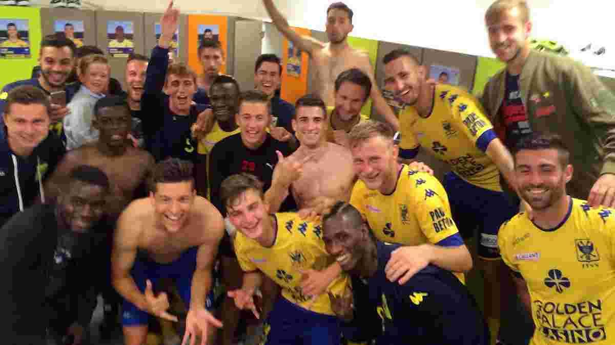 Безус забил победный гол в Кубке Бельгии, все команды украинцев прошли дальше
